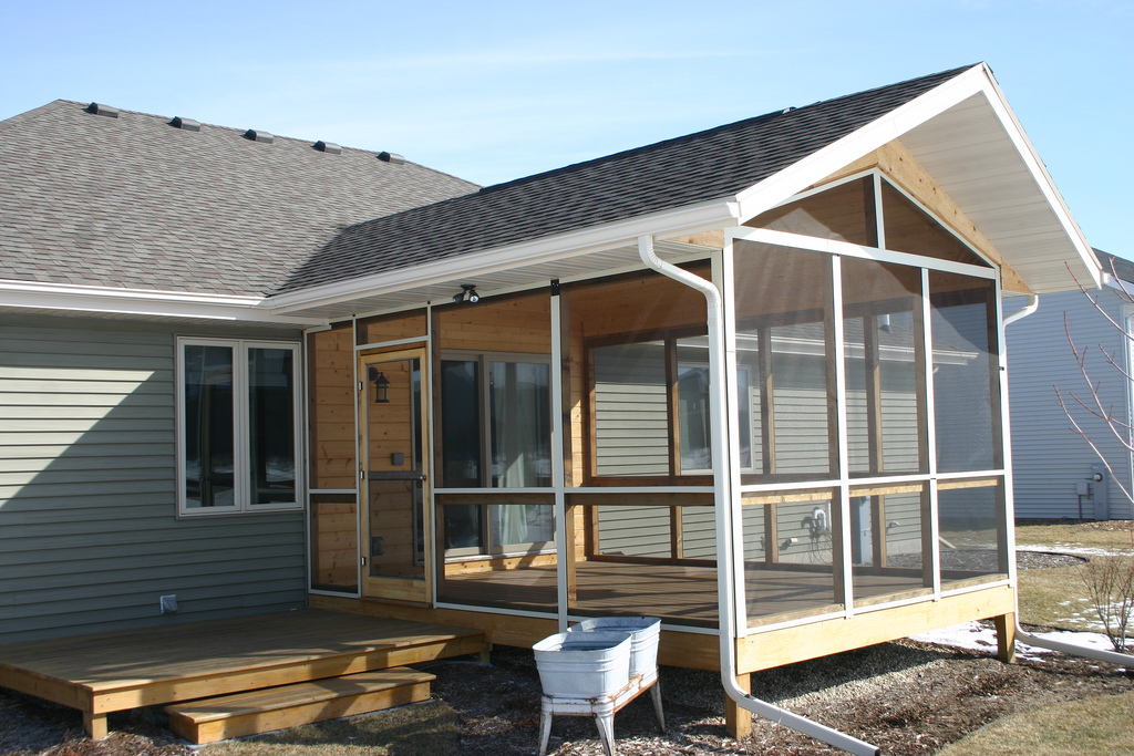 Madison Wi Patios And Screen Room Construction Home